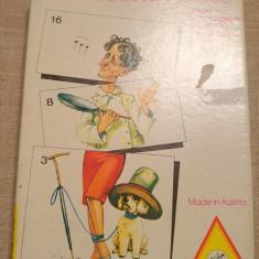 Joc vechi, vintage Austria Piatnik Komische Leute Nr. 4263, puzzle