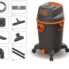 Aspirator umed/uscat Black&Decker BXVC30PDE, 30 L, 1600 W - Aspirator cu Filtrare prin Apa