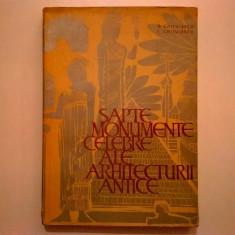 G. Chitulescu, Tr. Chitulescu – Sapte monumente celebre ale antichitatii