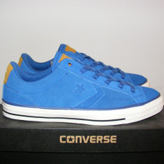 Tenisi Converse Star Player OX 149787C nr. 41, 5 - Tenisi barbati Converse, Culoare: Din imagine, Piele intoarsa