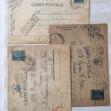 Set 3 carti postale militare necenzurate 1941-1942, Circulata, Altul, Romania 1900 - 1950