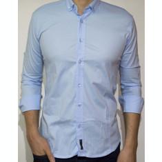 Camasa - camasa bleu camasa slim camasa eleganta camasa barbat cod 88