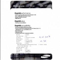 Resetare printer ML-1640 Mono Laser Printer - Chip imprimanta Samsung