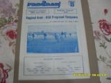 program    Vagonul  Arad  -  Progresul  Timisoara