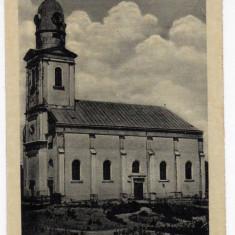 VALEA LUI MIHAI BISERICA REFORMATA ERMIHALYFALVA REFORMATUS TEMPLOM - Carte Postala Crisana dupa 1918, Necirculata, Fotografie