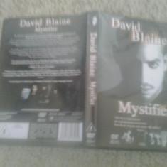 David Blaine – Mystifier (2002) - DVD - Film documentare, Engleza