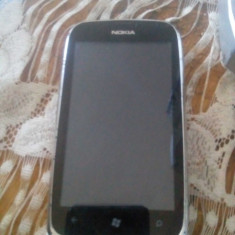 Nokia Lumia 610 Alb - Telefon mobil Nokia Lumia 610, Neblocat
