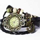 Ceas Vintage Miss My Saylor (culoare curea: negru) - Ceas dama, Piele ecologica, Analog