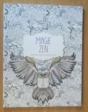 Magie Zen (Carte de colorat pentru adulti), Litera
