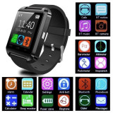 Ceas SmartWatch U8 bluetooth, ANDROID, IOS CADOUL PERFECT, Alte materiale, watchOS, Apple Watch