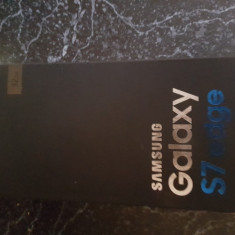 Vand Samsung s7 edge - Telefon Samsung, Auriu, 32GB, Neblocat, Single SIM