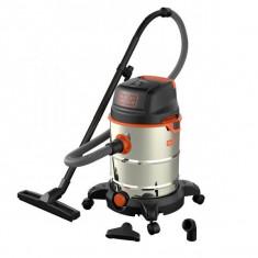 Aspirator umed/uscat Black&Decker BXVC30XTDE, 30 L, 1600 W - Aspirator cu Filtrare prin Apa