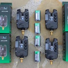 Set 4 Avertizori Senzori Falai Fl 6 leduri Semnalizare Antifurt Potentiometru - Avertizor pescuit, Swingere