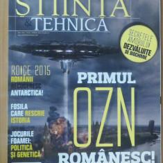 Stiinta si Tehnica #45 Aprilie 2016 - Primul OZN romanesc