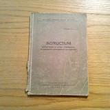Instructiuni Referitoare la LUCRUL ATELIERELOR DE REPARATII ARTILERISTICE - 1956