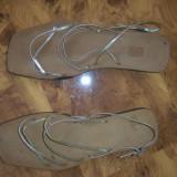 sandale italiene 37/38 superbe handmade noi SUPER pret