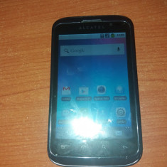 Alcatel one touch 991 - Telefon Alcatel, Negru, Neblocat