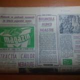 """Ziarul magazin 5 mai 1973-articol despre 1 mai """" biruinta muncii noastre """""""
