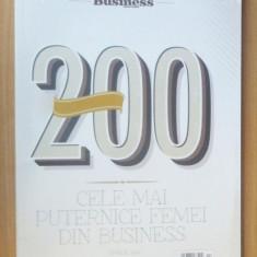 200 cele mai puternice femei din business Romania 2016 (Business Magazin)