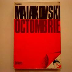 Vladimir Maiakovski - Octombrie - Carte poezie