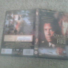 Courage under fire (1996) – DVD - Film drama, Engleza