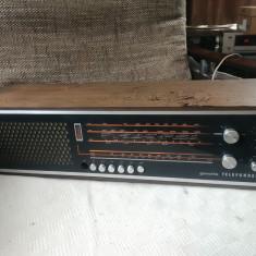 Radio vintage Telefunken Gavotte 201 M, stare buna. - Aparat radio