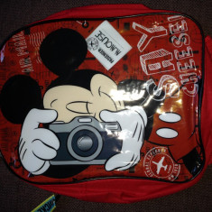 Ghiozdan pt baieti-DISNEY-Mickey mouse, Baiat, Rosu
