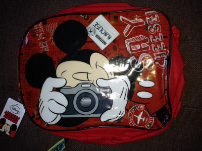 Ghiozdan pt baieti-DISNEY-Mickey mouse foto
