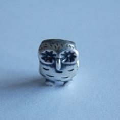 Talisman Pandora argint charm bufnita 790278 -877 - Pandantiv argint