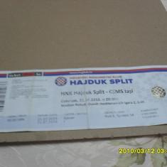 Bilet Hajduk Split - CSMS iasi - Bilet meci