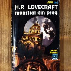 Carte - Monstrul din prag - H.P. Lovecraft (Colectia: Super Horror, 1993) #404 - Carte Horror