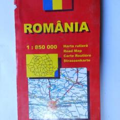 002 Harta Romaniei. Amco Press.