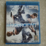 "Blu-ray Film 3D ""INSURGENT"" Tradus - NOU - Film actiune, BLU RAY 3D, Romana"