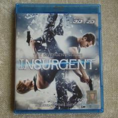 """Blu-ray Film 3D """"INSURGENT"""" Tradus - NOU, BLU RAY 3D, Romana"""