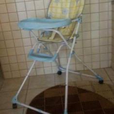 Scaunel servit masa - Masuta/scaun copii Altele