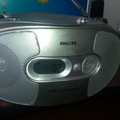 CD PHILIPS AZ1038 CD MP3, FUNCTIONEAZA . - CD player