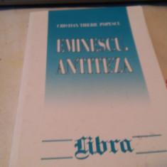 Eminescu antiteza -Cristian Tiberiu Popescu - Biografie