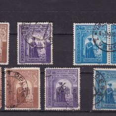 ROMANIA 1941/43, LP 144 I SI LP 145 III, DUCA VODA SERII STAMPILATE - Timbre Romania