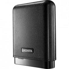 Baterie portabila A-Data PV150, 10000mAh, microUSB DC 5V-2A, neagra - Baterie externa