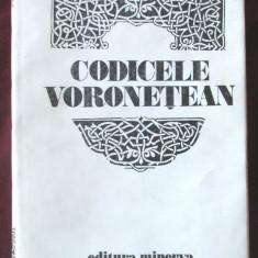 CODICELE VORONETEAN, Editie critica de Mariana Costinescu, 1981. Carte noua - Carte Antologie