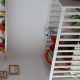 Pat copil IKEA SUNDVIK - Patut lemn pentru bebelusi Ikea, 120x60cm, Alb