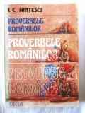 PROVERBELE ROMANILOR, Editie ingrijita de I. C. Hintescu, 1985, Alta editura