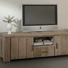 Comoda TV lemn masiv - Comoda living