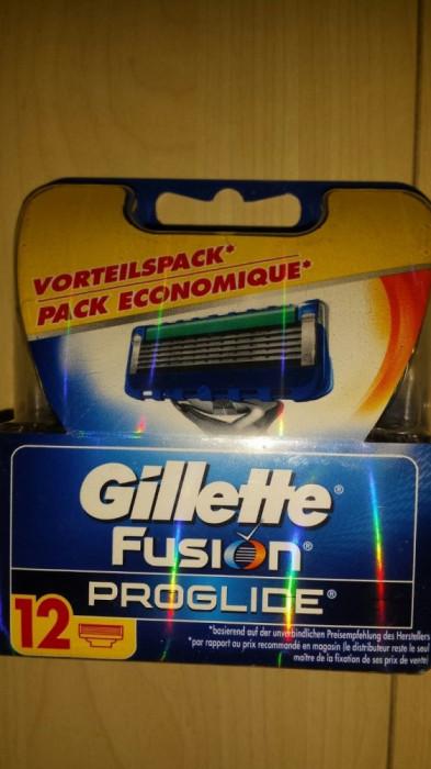 Set 12 rezerve Gillette Fusion  Proglide