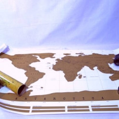 Harta lumii razuibila - pentru calatorii