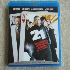 """Blu-ray Film """"21"""" Tradus - NOU"""