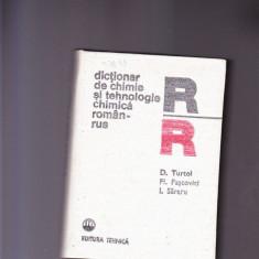 Dictionar Altele DE CHIMIE SI TEHNOLOGIE CHIMICA -ROMAN -RUS