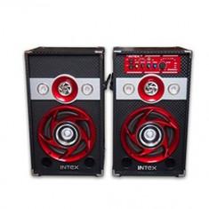 Set 2 boxe cu amplificare si MP3 Intex DJ601 - Echipament karaoke Altele