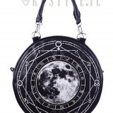 Geantă gotică rotunda Luna plina