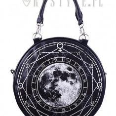 Geantă gotică rotunda Luna plina - Gentuta Copii